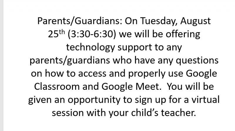 Attention Parents/Guardians!!!