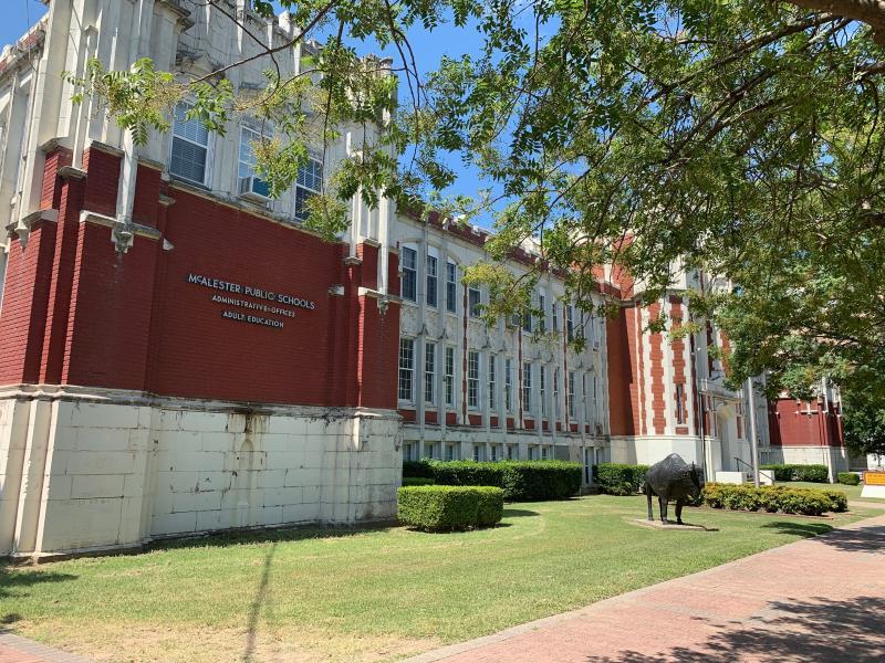 Landscape View facing Adult Education School