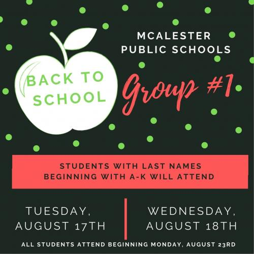 Group 1 Flyer