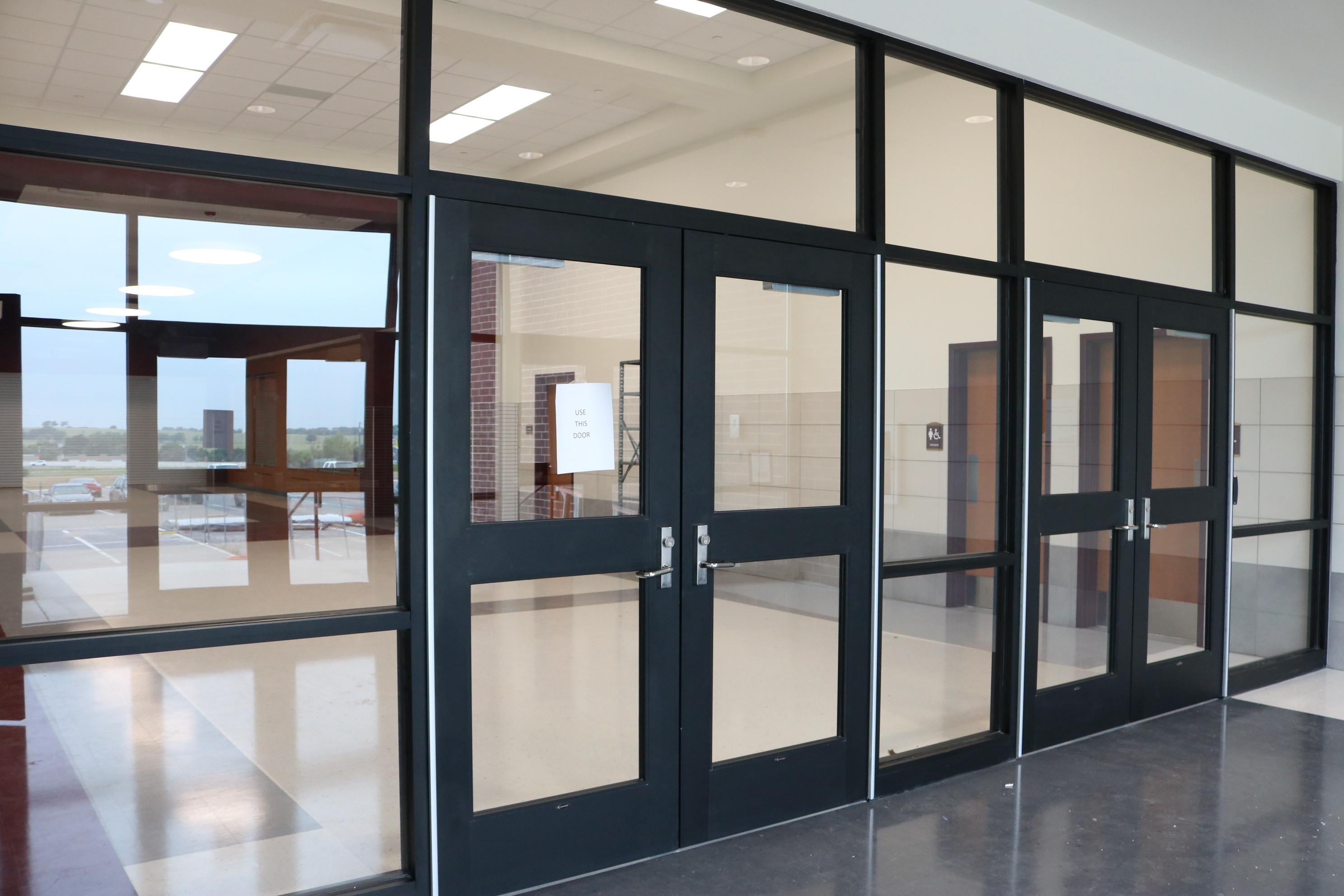 Secure Vestibule Entrance