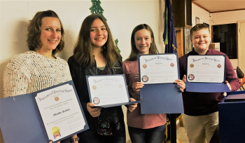 RMMS Students Place Top 3 in VFW Essay Competition