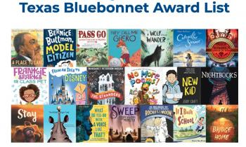 Texas Bluebonnet Books Party - TES