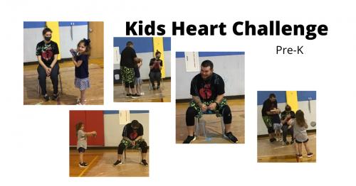 Prek heart challenge
