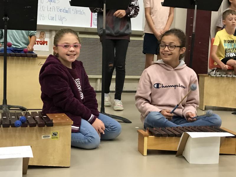 5th Grade Performing School Song