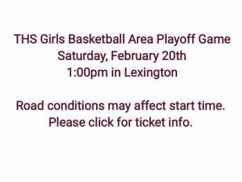 Girls Playoff Basketball this Saturday, February 20th