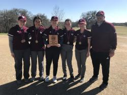 THS Golf Places 1st and 3rd at Cameron