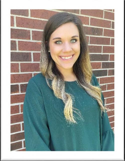 Kaitlyn Richard Beauregard Parish Elementary Teacher of the Year.