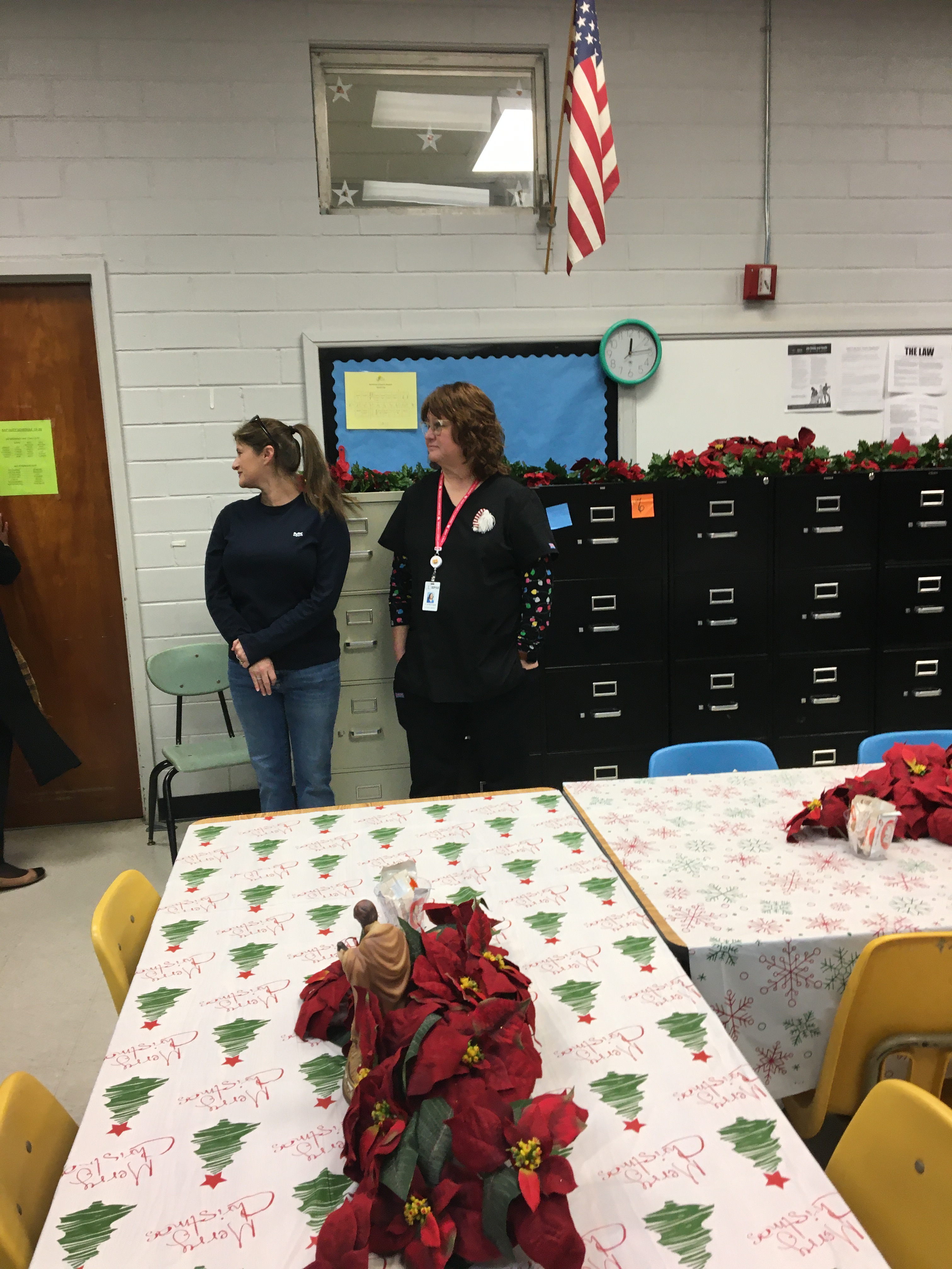 Mrs. Kristen and Nurse Trish