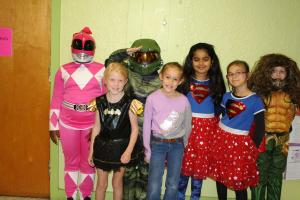 Red Ribbon Week Super Hero Day