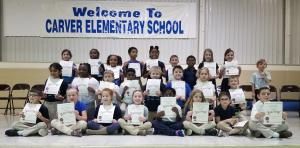 2nd Grade Spelling Bee Participants