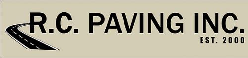 R.C. Paving logo