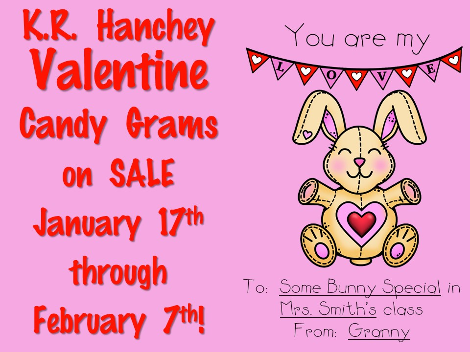 Candy Grams on SALE!