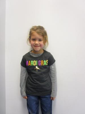 Mardi Gras Shirt Day