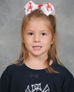 Kindergarten February Students of the Month