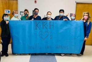 KRH Thanks Healthcare Workers