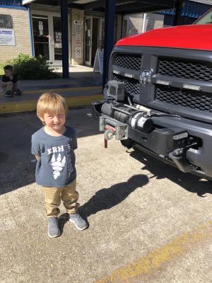 Fire Truck Tour