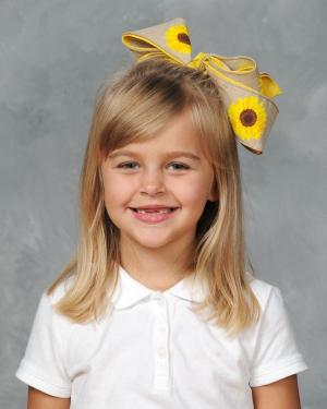 1st Grade October Students of the Month