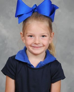 Kindergarten January Students of the Month