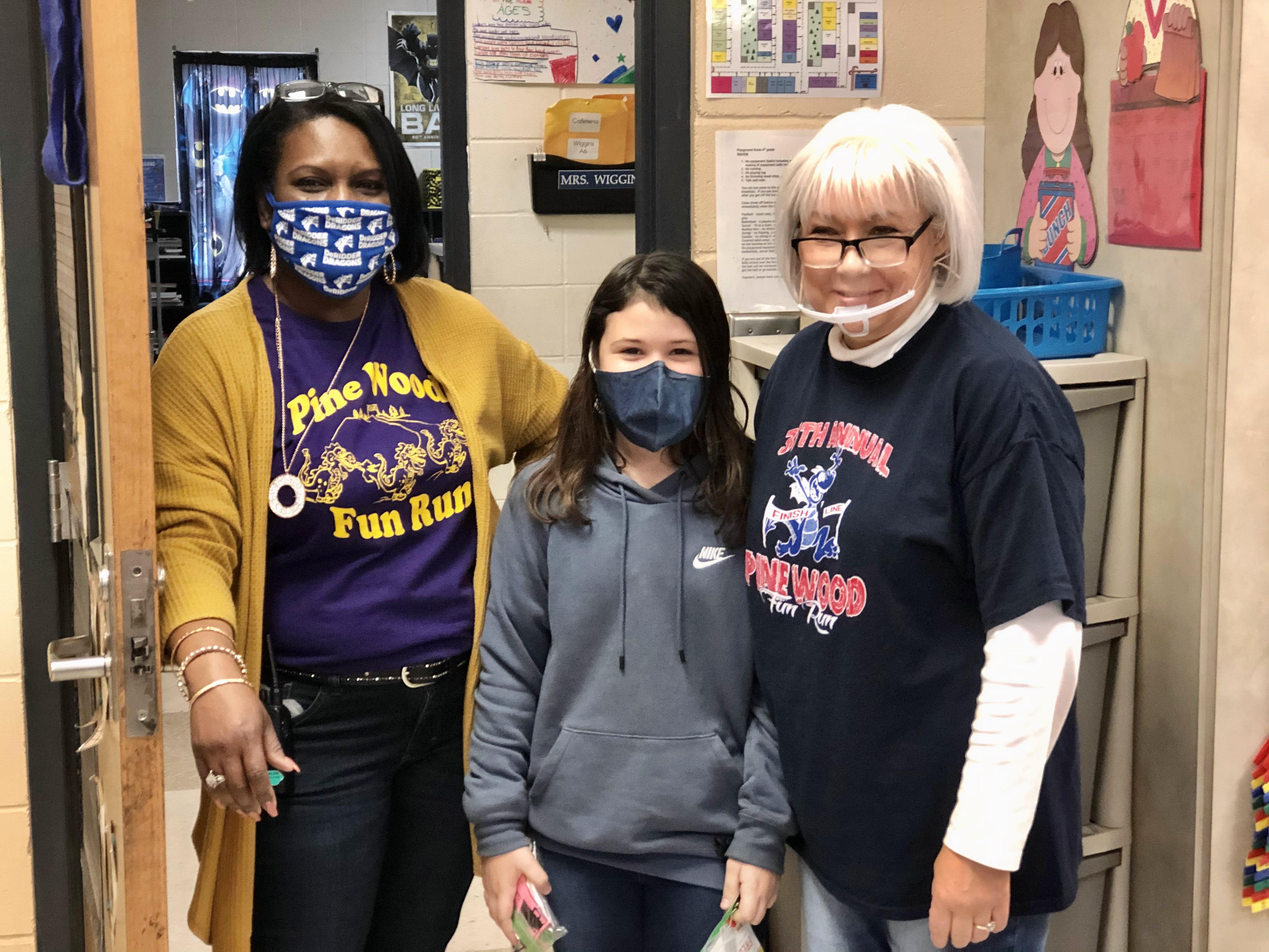 Mrs. Spikes, Jaylee, Mrs. Deggs