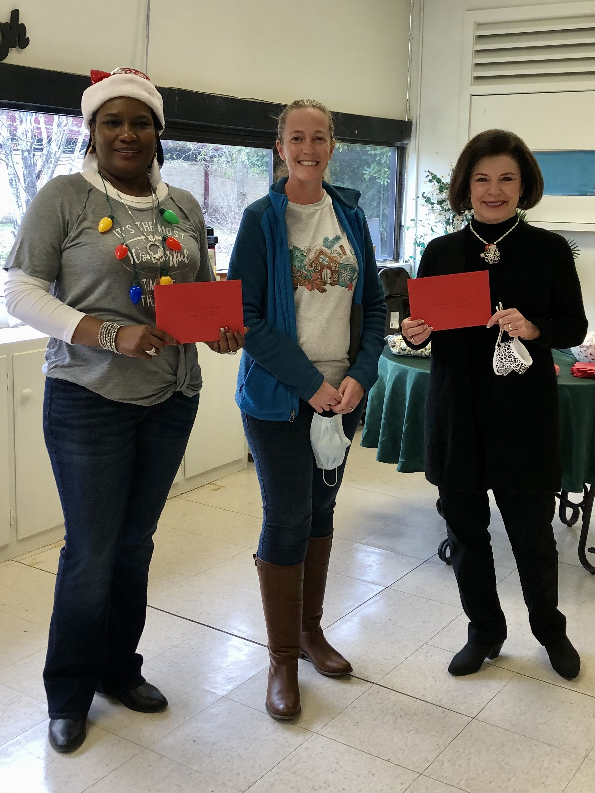 Mrs. Spikes, Nurse Primeaux, Mrs. Dixon