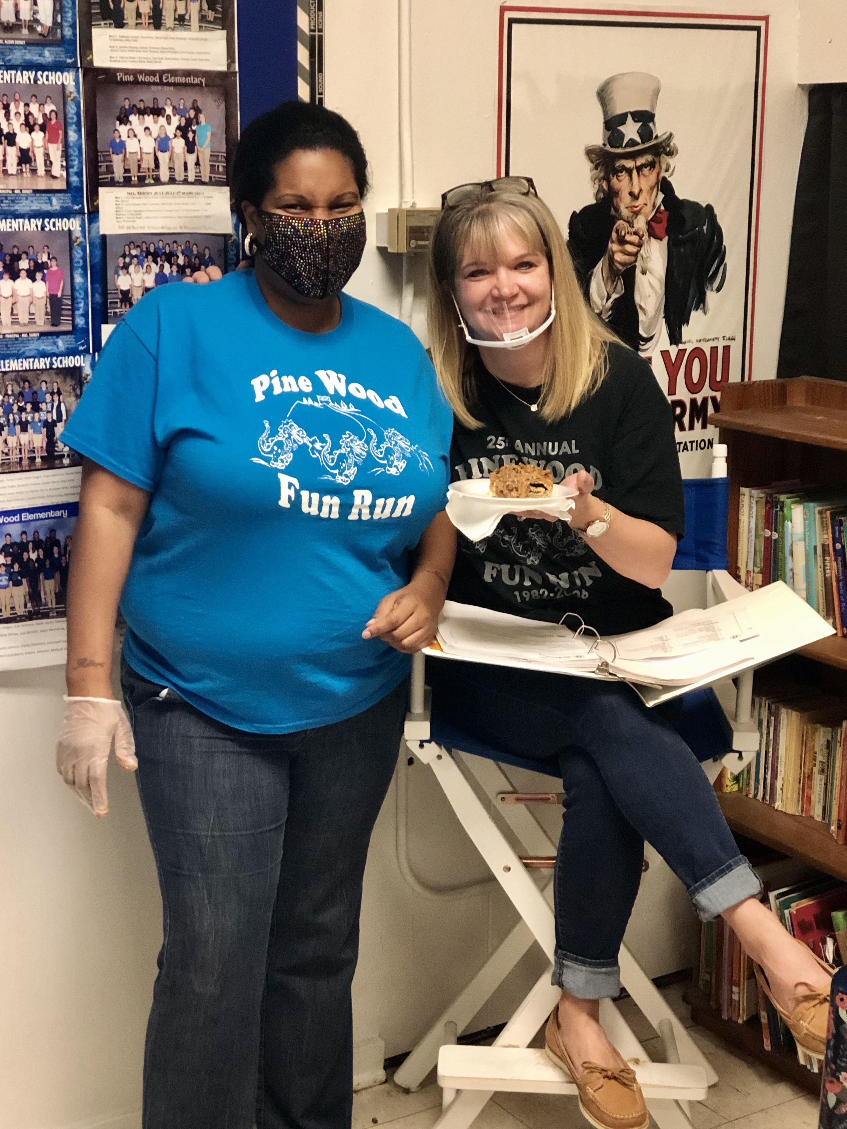 Mrs. Acey-Roy and Mrs. Shirley