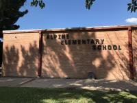 Landscape View facing Alpine Elementary School