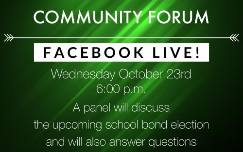 FB LIVE Community Forum