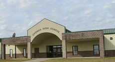 Landscape View facing Okemah High School