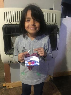 Jael made an Easter basket.