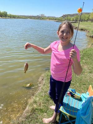 Hannah went fishing.