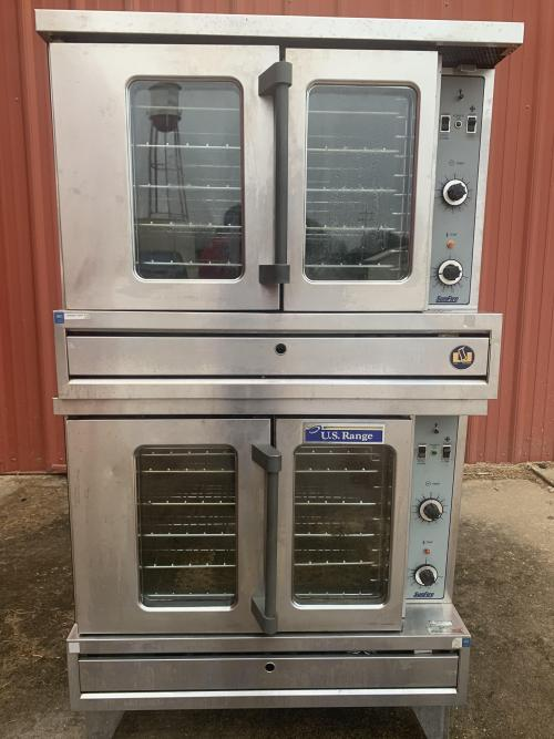 Commercial Double Oven