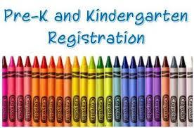 Pre-K and Kindergarten Registration