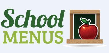 School Menus Clipart
