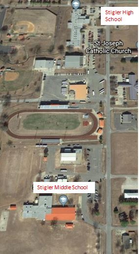 High School/ Middle School Map
