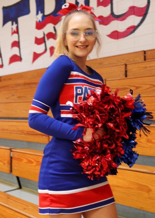 Molly Roe-Patriot Cheerleader