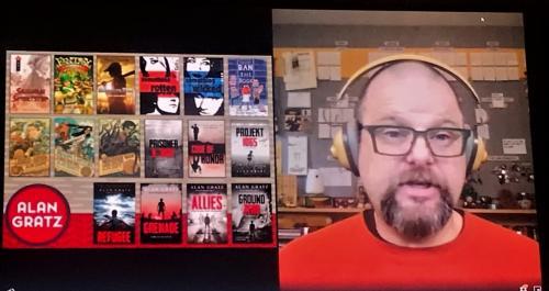 Virtual Author on video