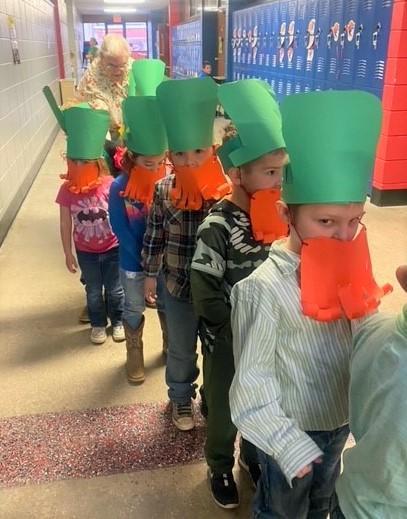 Preschool Leprechaun Hunt
