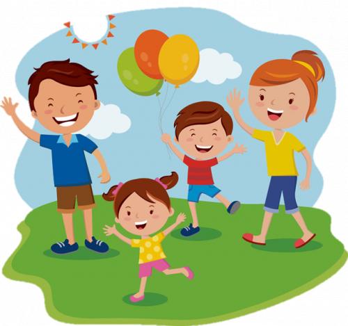 Family Fun Clipart
