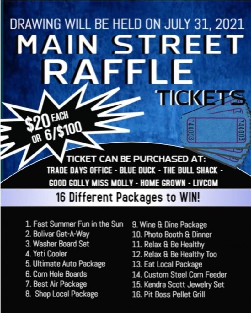 Main Street Raffles Huge Prizes