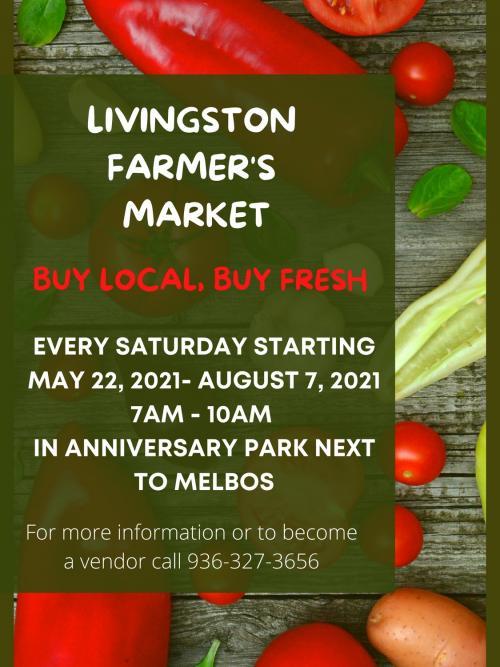 farmers market event flyer