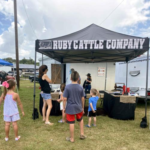 ruby cattle company at an event