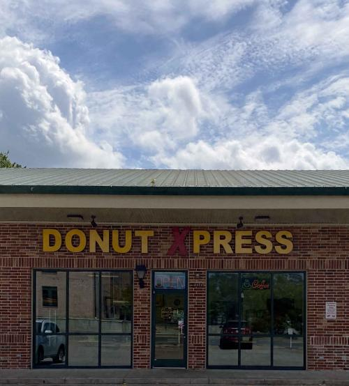 donut xpress store front