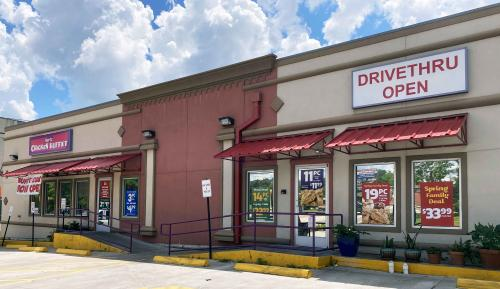 hartz chicken buffet store front