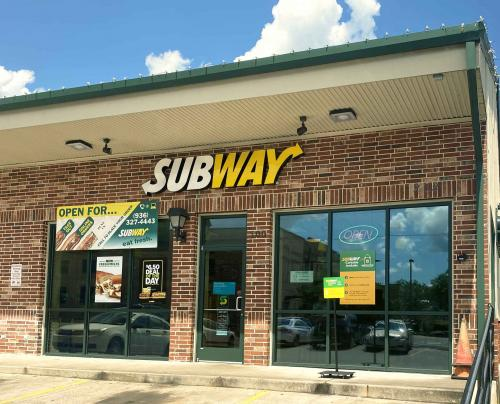 subway store front