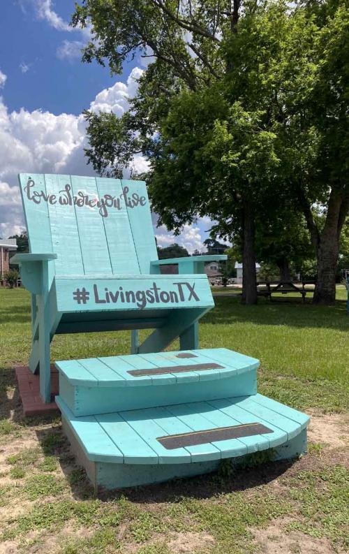 anniversary park chair