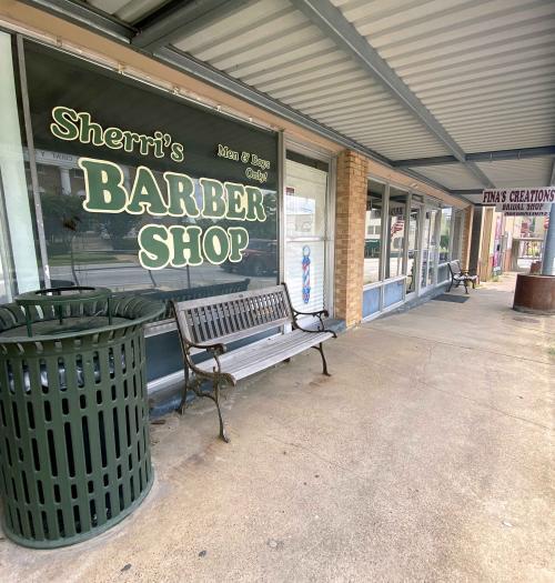Sherri's barber shop