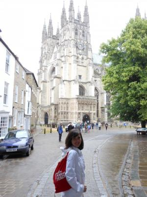 Pilgrimaging to Canterbury Cathedral
