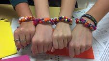DNA double helix bracelets