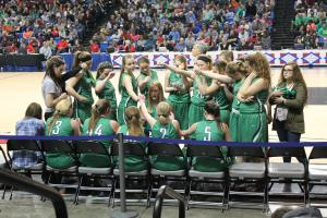 State Finals huddle