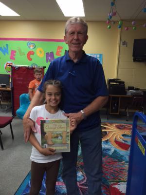 Liani Cash and her Grandpa